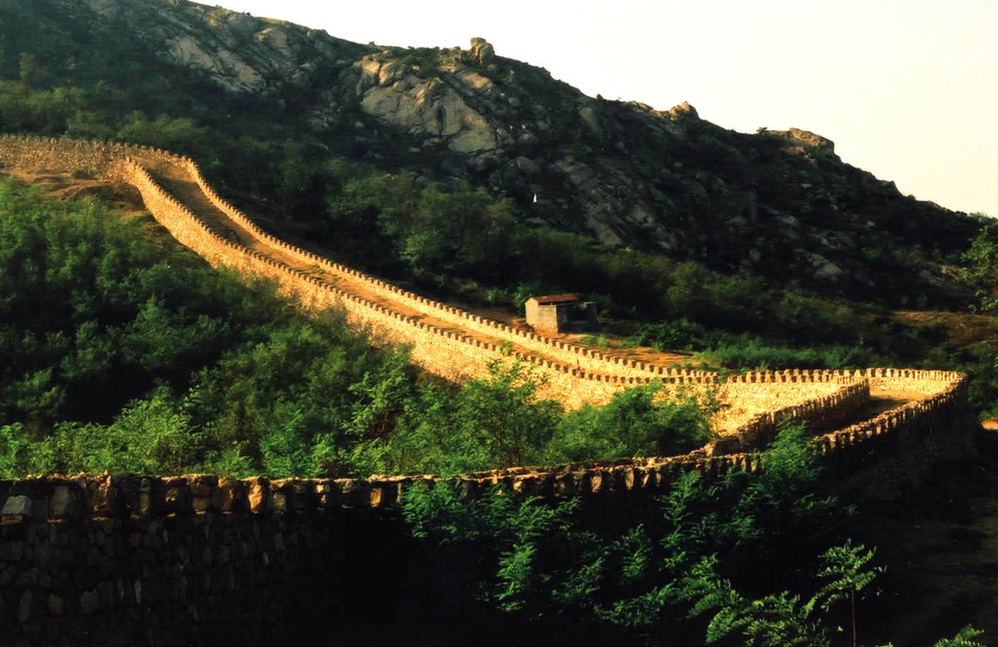青岛珠山国家森林公园齐长城遗址