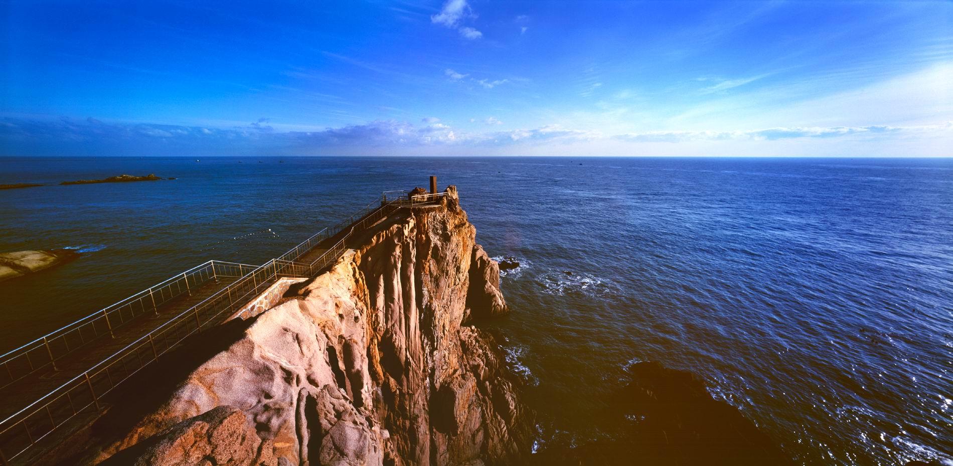 威海旅游景点冬季景色