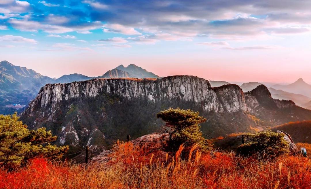 栖霞天崮山生态旅游风景区:驴友大会欢乐集结